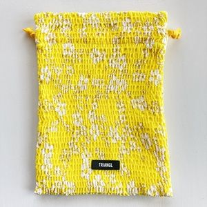 *Free w/ Purchase* Yellow Triangl Bag